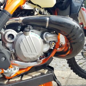 EXHAUST GUARD FITS KTM 250 300 EXC 2017 - 2019