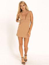 Clubwear Spaghetti Strap Stretch Dresses for Women