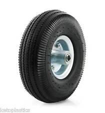"10"" PU Wheelbarrow Wheel 4.10 / 3.50 - 4 OFF SET 16MM Bearing Puncture Proof"