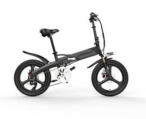 Electric Folding Bike 7 speed Shimano transmission Lankeleisi G660