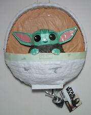 Star Wars The Mandalorian Child Baby Yoda 3D Pinata Pull String Piñata