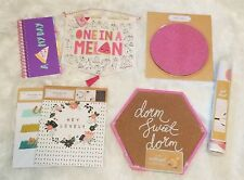 LOT of 11 College Dorm Supplies Corkboard MousePad Planner & Wall Decor (DSDP)