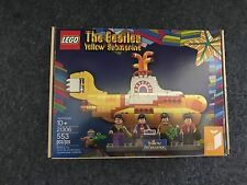 LEGO Ideas Beatles Yellow Submarine 21306 2016 4 Mini Figure Paul Ringo John