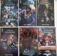 Grimm Fairy Tale: Alice In Wonderland # 1,2,3,4,5,6 set cvr A New warehouse find