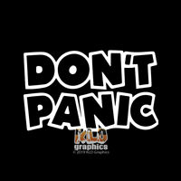 DON'T PANIC vinyl sticker OFF ROAD Outdoors 4x4 for JEEP WINDOW TRUCK FORD CHEVY