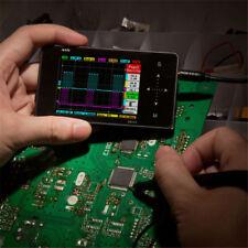 Mini DS202 Digital LCD 2-channel Oscilloscope Kits DIY Parts Probe 1MHz 10MSa/s