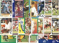 (20) 1991 Auburn University Tigers Alumni Cards NO DUPES! Barkley Bo Jackson
