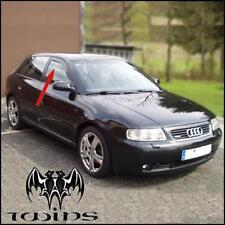 Déflecteurs de vent pluie air teintées pour Audi A3 8L 5 portes 1996-2003 5p