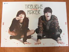 TROUBLE MAKER : Hyuna & Hyunseung [OFFICIAL] POSTER K-POP *NEW*