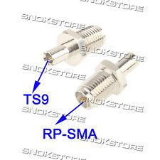adaptador adaptador CONECTOR RP-SMA macho a TS9 antenas WIFI ROUTER clave