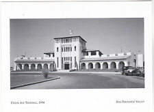 "+PC-Postcard-""The Union Air Terminal"", 1934  @ San Fernando Valley, CA   (#45)"