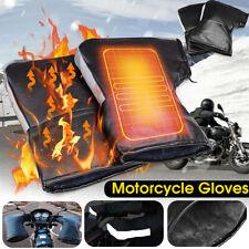 Handlebar Winter Motorcycle Scooter Bike Gloves Hand Muffs Warm Warmer AU