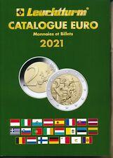 Catalogue Leuchtturm EURO des Monnaies et Billets 2021
