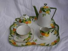 LIMOGES ART DECO PORCELAIN TEA OR COFFEE SET,20th CENTURY