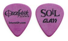 Soil SOiL Shaun Glass Signature Purple Guitar Pick - 2002 OzzFest Tour