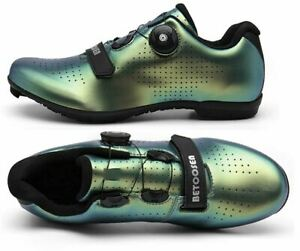 Betoosen Road Bike Cycle Shoes Womens Sz 6 EUR 37 Dial-Lace System  NEW