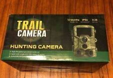 Digital Trail Game Camera IP56 Waterproof, 12MP 1080P Wildlife Hunting Camera