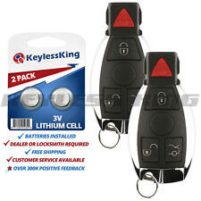 2 Replacement for Mercedes-Benz IYZ3312 Keyless Entry Remote Car Key Fob Control