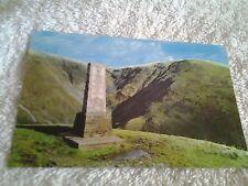 Vintage postcard THE DEVIL'S BEEF TUB & COVENANTER MEMORIAL, MOFFAT
