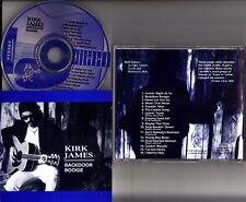 KIRK JAMES- Backdoor Boogie (Back Door) CD 1994 Acoustic Blues Slide Guitar