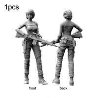 1/35 Female U.S. Navy SEALs Resin Soldier Toy Unpainted X6Z3