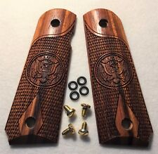 1911 Full Size US Army Custom Grips Colt Sig S&W Kimber Para Ord Solid Rosewood