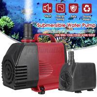 Submersible Water Pump Fish Pond Aquarium Tank Fountain Sump Feature   ∫ ❀ Д *