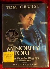 Minority Report (Dvd, 2002, 2-Disc Set, Widescreen) New Sealed
