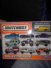 Matchbox Collectors10 Pack w/Landrover Discovery and 83 Chevy Silverado Stepside