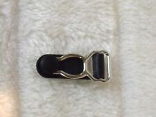 1 pince Porte Jarretelle à l'unité fabrication rechange métal plastique noir