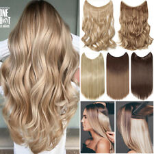 Hidden Halos Invisible Wire Real Thick Secret Miracle For Human Hair Extensions