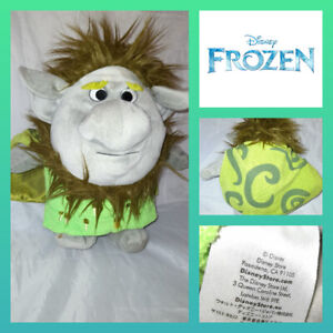 """Disney Collections Frozen Pabbie Troll Soft Plush Toy Doll 10""""Approx"""