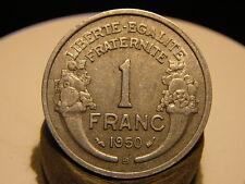 4CL(217) - 1 FRANC - MORLON - ALU - 1950 B - RARE QUALITE TTB+/SUP !