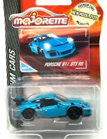 Majorette Porsche 911 GT3 RS Light Blue 2019 Package 1:59 209H Free Display Box