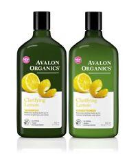Avalon Organics Shampoo & Conditioner Duo - Clarifying Lemon 325ml