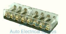 CLASSIC / KIT CAR 6v / 12v volt continental fuse box 8 way with screw terminals