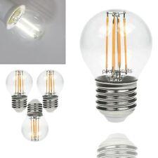 3 x E14 B22 E27 2W 4W 6W 8W LED Filament Candle GLS Golf Energy Saving Bulbs