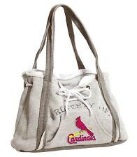 St Louis Cardinals MLB Baseball Team Ladies Embroidered Hoodie Purse Handbag