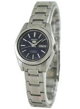Seiko Fashion Analog Ladies 5 Automatic Silver Watch SYMK15K1