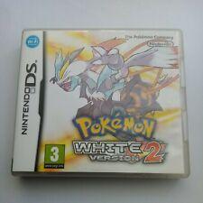 Pokemon White Version 2 - Case & Manual Only - Nintendo DS