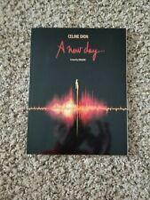 """Celine Dion """"A New Day"""" Souvenir Program Book Caesar's Palace Las Vegas Show"""