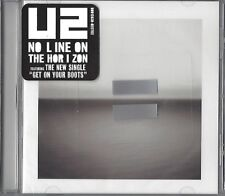 U2/NO LINE ON THE HORIZON * NEW & SEALED cut-out CD * NUOVO *