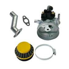 49cc 80cc 2 Stroke Cycle Gas Motorized Bicycle Carb Air Filter Engine Motor Kit