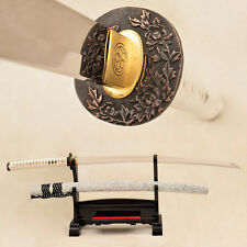 Traditional Handmade Japanese Samurai Sword Katana 9260 Spring Steel Blade Sharp