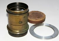 VERY RARE VINTAGE SWISS MADE LENS Suter Basel Aplanat A №3 SN 13632 18x24 flange