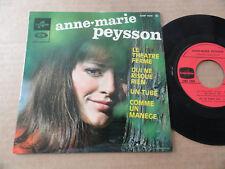 """DISQUE 45T  DE ANNE-MARIE PEYSSON  """" LE THEATRE FERME """""""