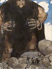 KIDS PAINTING JOHN BAUER GIANT 12 X 16 INCH ART PRINT POSTER PICTURE HP2182