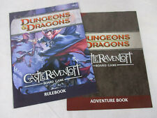 CASTLE RAVENLOFT Board Game REPLACEMENT INSTRUCTIONS by WOTC!!