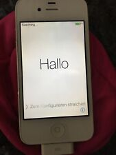 Apple iPhone 4 - 16GB - White (Unlocked) A1332 (GSM) CLEAN IME