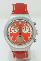 Orologio Swatch chrono irony men's watch vintage clock red clock swatch aluminiu